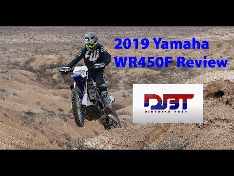 2019 YAMAHA WR450F Impression