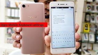 Oppo Mobile Keyboard Setting | Single Single Word