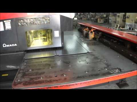 NUMERICAL CONTROL TURRET PUNCH PRESS