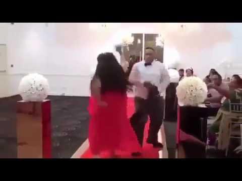 Couple on dancefloor