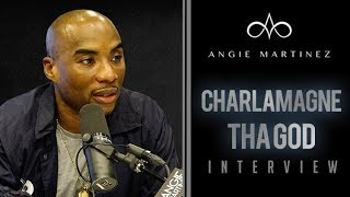 The Angie Martinez Show - Charlamagne Tha God Talks New Book, Dealing w/ Anxiety + Kanye West