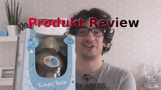 CloudB Twilight Turtle Nachtlicht | Unboxing + Livetest | German |