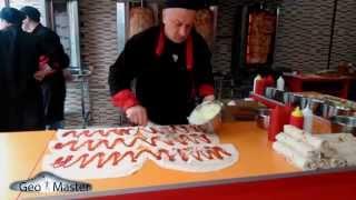 გლდანის შაურმა. Как делается самая лучшая Шаурма в мире!!! The best Doner Kebab in Tbilisi