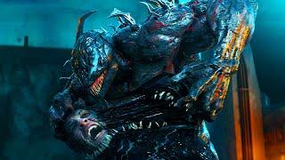 Venom Vs Riot - Final Battle Scene   VENOM (2018) Movie CLIP 4K