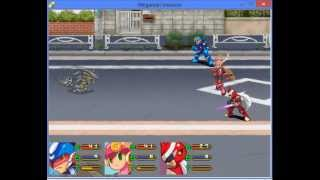 Megaman Invasion - Battle Test - RM2K3