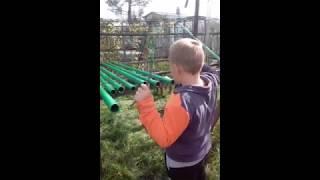Приколы/Дети/Игры/Как я играю на трубах