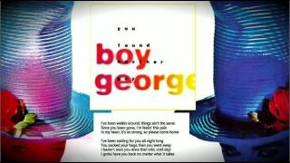 """Boy George - """"You found another guy ( 7"""" edit )"""""""