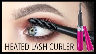 I TRIED A HEATED EYELASH CURLER... so you dont have to