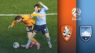 Brisbane Roar FC Vs Sydney FC | A-League Highlights