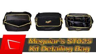 Meguiar's ST025 Kit Detailing Bag Large Tasche unter 28€ im Test - Größe und was passt alles rein?