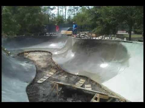 Harpers Landing Skatepark - The Woodlands, TX: concrete replaces pre-fab