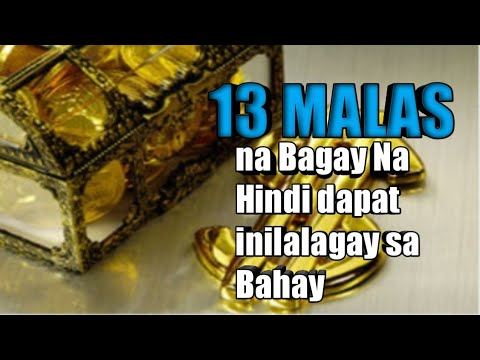 13 Malas Na Bagay Na Bawal Ilagay Sa Bahay