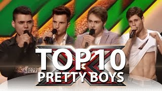 TOP-10 Most Handsome Male Singers on X-Factor Ukraine