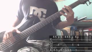 KoRn - Somebody Someone [Bass Cover + Tab]