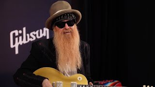 Billy F Gibbons Demos The New Gibson 1957 Goldtop Reissue VOS