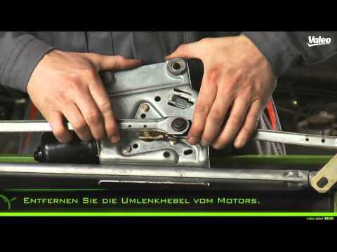 Tauschen Sie den Valeo Wischermotor mit Gleichlauf Wischsystem Typ 2 ganz einfach aus!