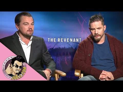 THE REVENANT Interviews (2015) Leonardo DiCaprio, Tom Hardy & more!
