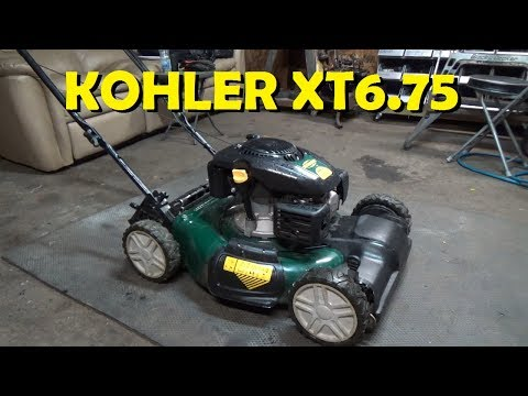 How to Fix a Lawnmower - Kohler XT6.75