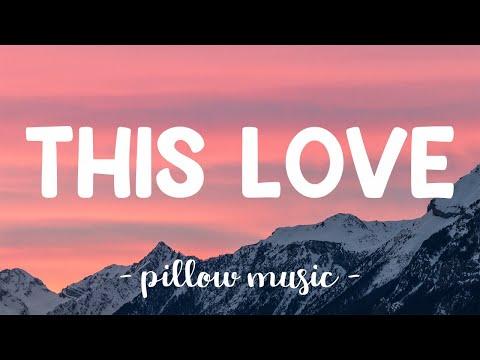 This Love - Maroon 5 (Lyrics) 🎵