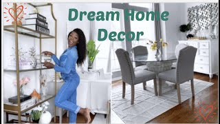 Decorate MY Dream Home With Me | Glam Dining Room On A Budget While In Quarantine | Mercygono
