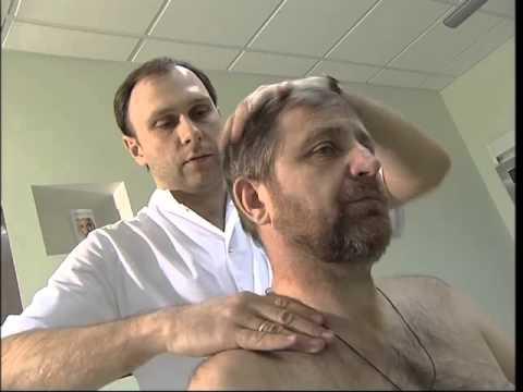 Лечение и профилактика шейного остеохондроза в домашних условиях. Репортаж НТВ.