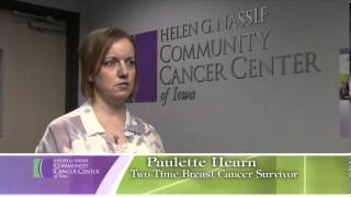 A Helen G. Nassif Community Cancer Center of Iowa Patient Discusses Breast Reconstruction