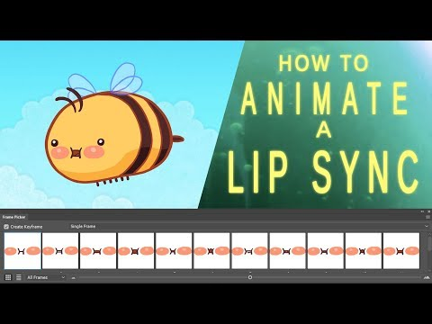 Animating a Lip Sync