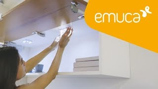 How to install battery powered lights in your home
