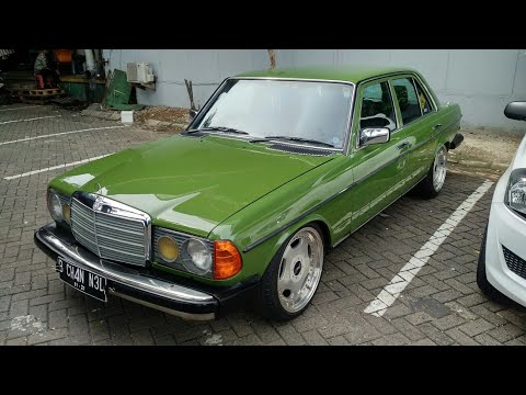 In Depth Tour Mercedes Benz 200 W123 Tiger (1986) - Indonesia