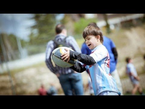Watch videoNicolás,  con síndrome de Down, en el Torneo Nacional de Rugby