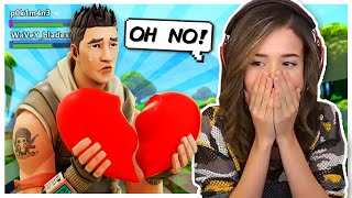 Pokimane Breaks 11 YR OLDS Heart in Fortnite Random Duos?!