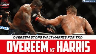 UFC Fight Night Highlights: Alistair Overeem rebounds, stops Walt Harris for TKO | CBS Sports HQ
