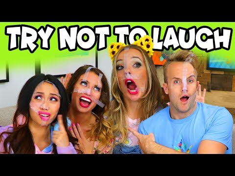 Try Not To Laugh Challenge with Jokes for Kids. Totally TV