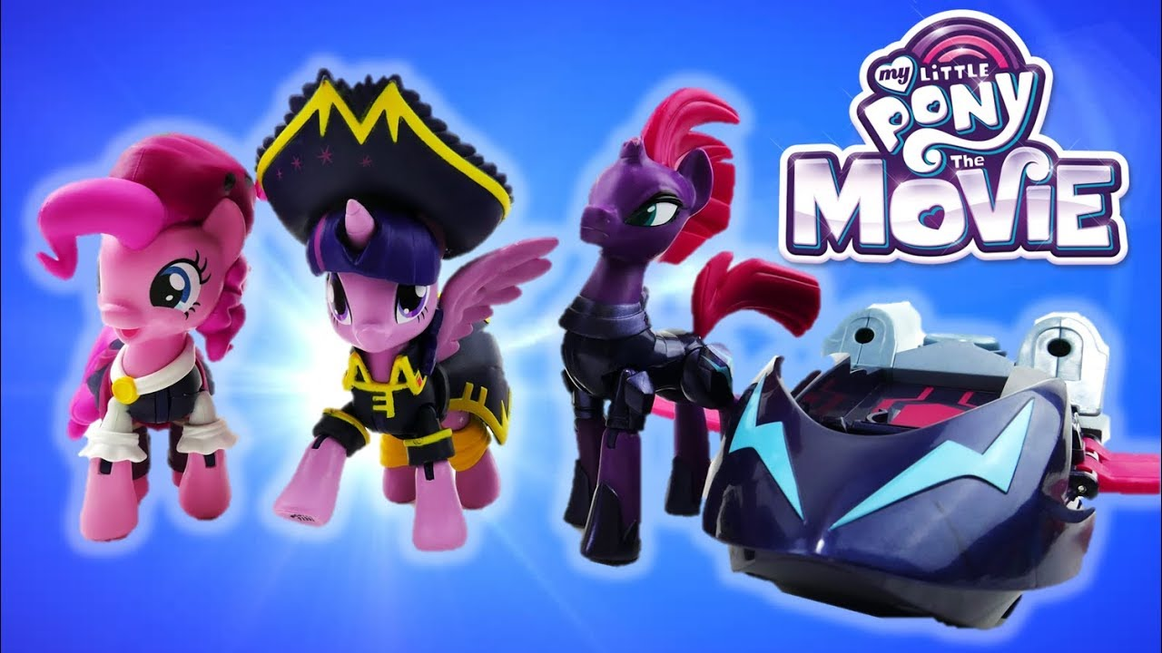 My Little Pony Movie 2017 Tempest Shadow Pirate Pinkie Pie Twilight Sparkle