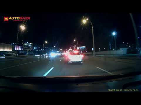 Видеорегистратор Globex GE-112W. Тест днем и ночью