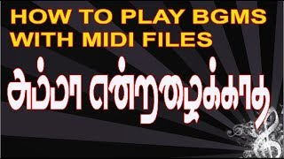 TAMIL FILM SONGS INSTRUMENTAL AND KEYBOARD NOTES - Thủ thuật