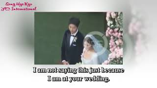 ENGSUB 171031 Lee Kwang Soo  Congratulation Letter at Song Joong Ki & Song Hye Kyo's Wedding