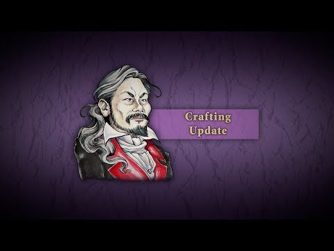 Crafting Update de Bloodstained: Ritual of the Night