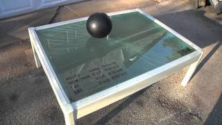 Gambar cover Bowling Ball vs Bullet-Proof Glass