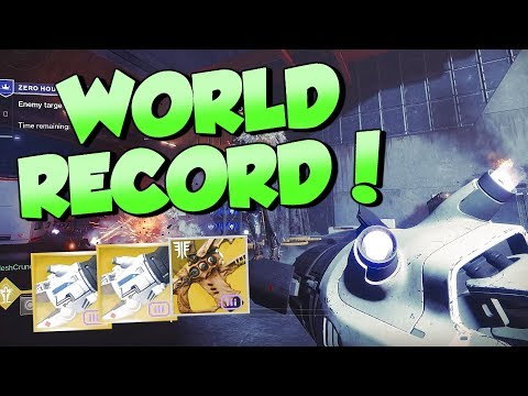 World's FASTEST Zero Hour Completion! in 8:57 (11:03 Left) Destiny 2