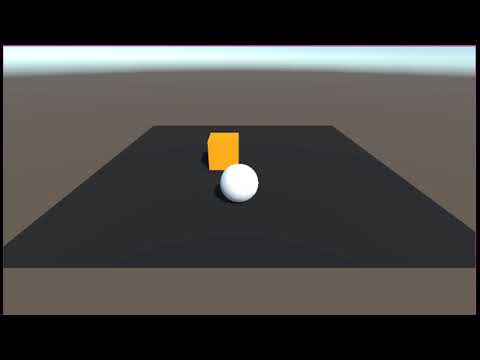 Experimenting with Unity Machine Learning example | Artur