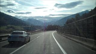 preview picture of video 'Joining the Austrian A13 : Over the Alps part five'