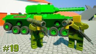 ОБЗОР ОРУЖИЯ!!! ОБНОВЛЕНИЕ!!! Brick Rigs (МОДЫ) (19 серия)
