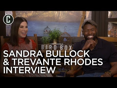 Sandra Bullock & Trevante Rhodes: Bird Box Interview