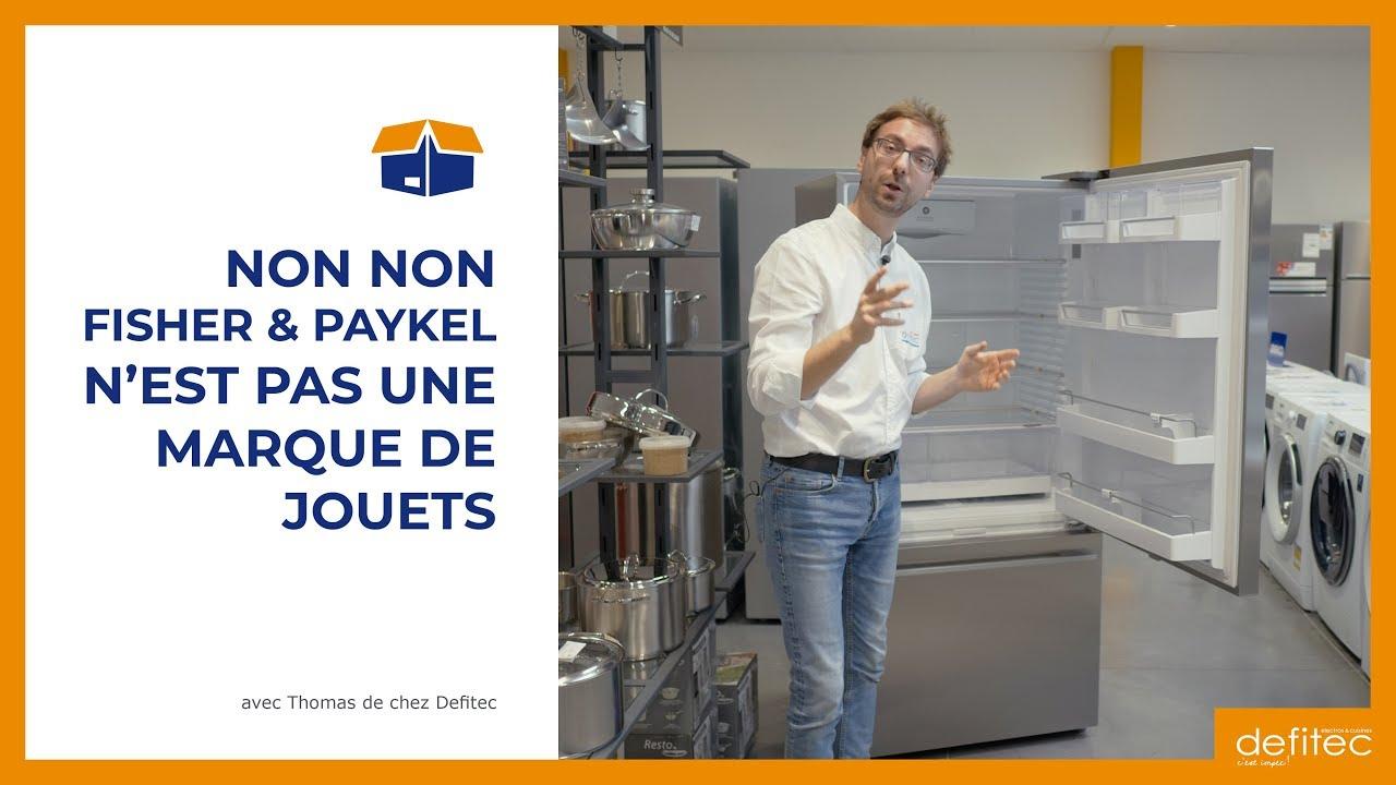 Tout nouveau en Belgique : connaissez-vous les réfrigérateurs américains Fisher Paykel ?