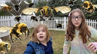THE BEES ARE COMING.