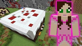 Minecraft: CAKE EATING GAME! - HEAD HUNTER THEME PARK [2]