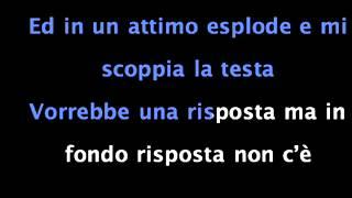 "Video thumbnail of ""La notte Arisa Karaoke base stumentale SanRemo 2012"""