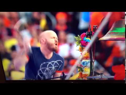 Coldplay Drummer REALLY Loves Superbowl 50 Mp3