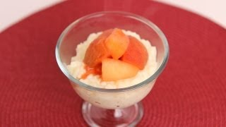 Orange Scented Rice Pudding Recipe - Laura Vitale - Laura In The Kitchen Episode 543